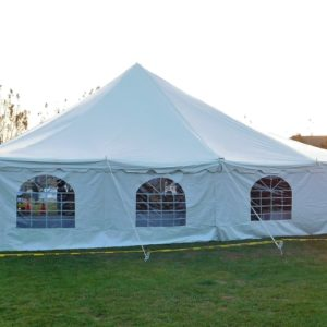 40x40 Pole Tent with Walls