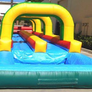 Finishing Side of the Inflatable Backyard Slip-N-Slide
