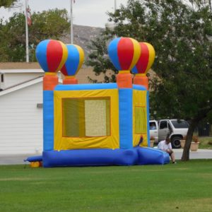 Picture of Balloon Jumper at a Park