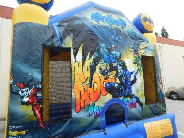 Batman Bounce House Harley Quinn Close Up
