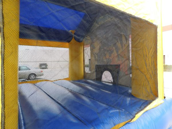 Inside View of the Batman Bounce House