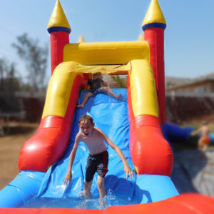 Water Slides and Dry Slides