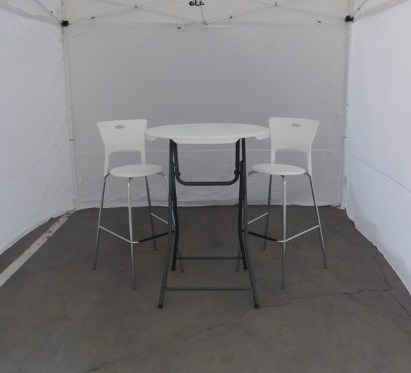 Picture of Cocktail Table With Bar Stools
