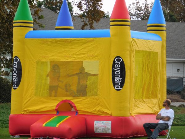 Picture of Crayon Bounce House
