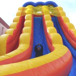 Close Up of 24ft Inflatable Slide