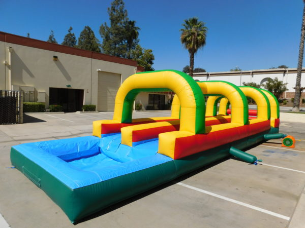 Backyard Slip-N-Slide