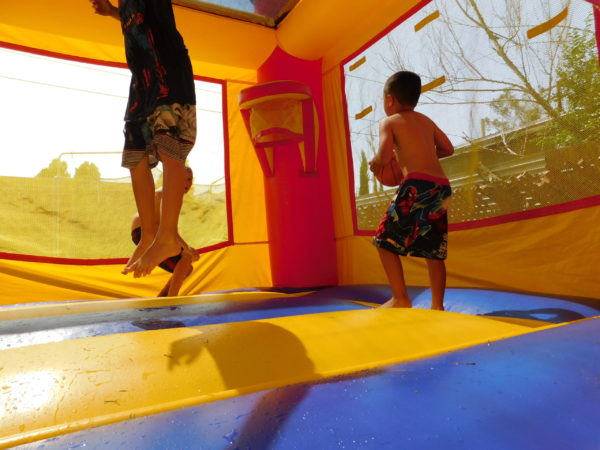 Photo of Kids Jumping in Castle Combo