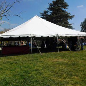 40x40 Pole Tent