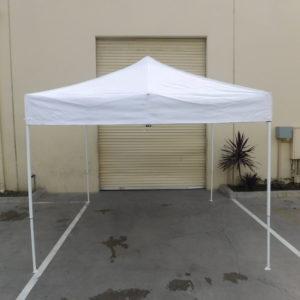 10x10 White Pop Up Canopy