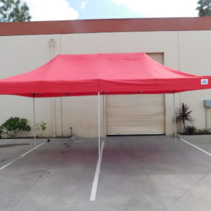 10x20 Red Pop Up Canopy