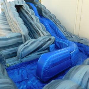 Landing Area of 18ft Wild Rapids Inflatable Slide