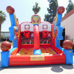 Picture of Inflatable Basketball Competition