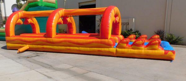 Fire Marble Inflatable Slip-N-Slide