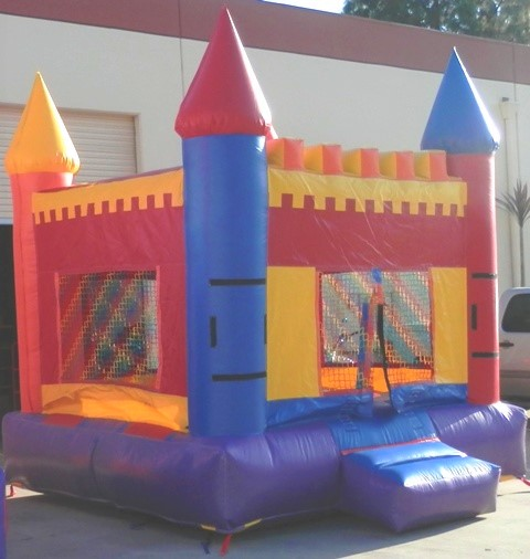 Side View Photo of Mini Castle Jumper