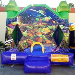 Ninja Turtles Bounce House