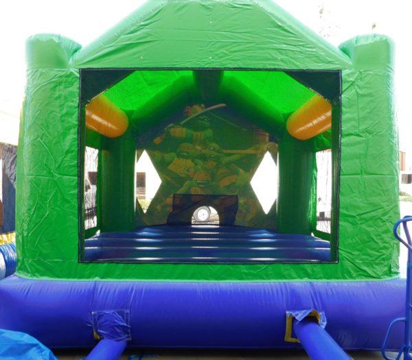 Backside view of the Ninja Turtles Jumper