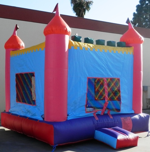 Photo of Princess Castle Jumper Side View
