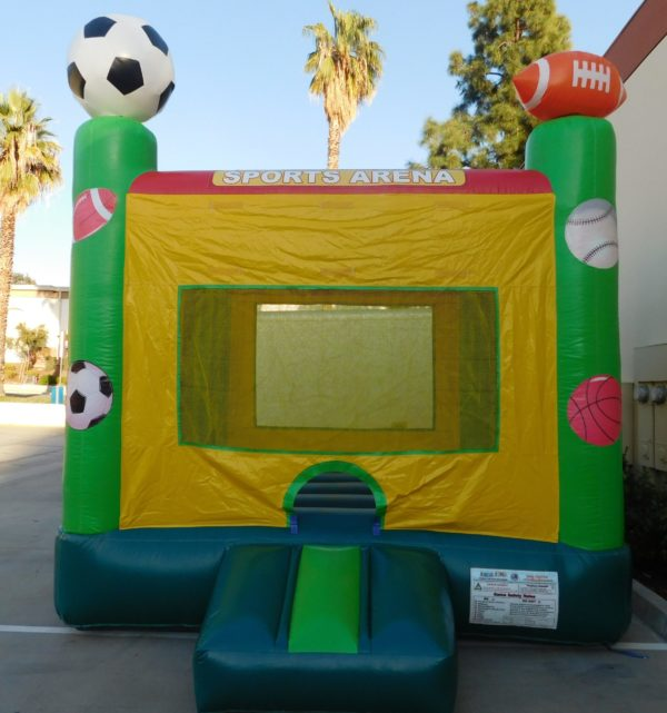 Picture of a Sports Bounce House
