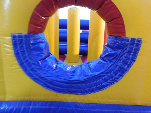 the course of the inflatable obstacle course jumper rental