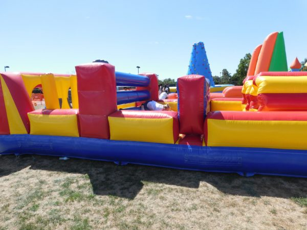 inflatable obstacle course jumper rental