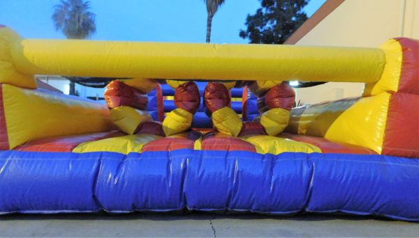 end of inflatable jumper rental obstacle course
